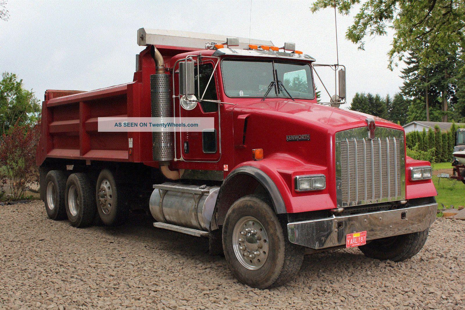 craigslist used 1999 kenworth t800 dump truck for autos post. Black Bedroom Furniture Sets. Home Design Ideas