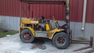 1948 Clark Planeloader Forklift photo