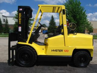 2006 Hyster 12000lb Capacity Forklift Lift Truck Puncture Proof Pneumatic Tire photo