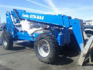2008 Genie Industries Gth - 844 Telehandler With 60