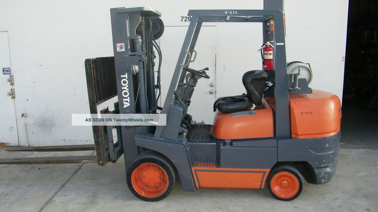 Toyota Forklift 52 - 6fgcu45 10k Sideshift And Auxiliary Function Forklifts photo