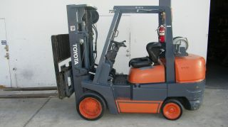 Toyota Forklift 52 - 6fgcu45 10k Sideshift And Auxiliary Function photo