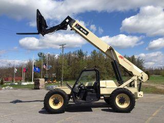 2007 Ingersoll - Rand Vr - 843c Telescopic Forklift Telehandler Lull Reach Fork photo