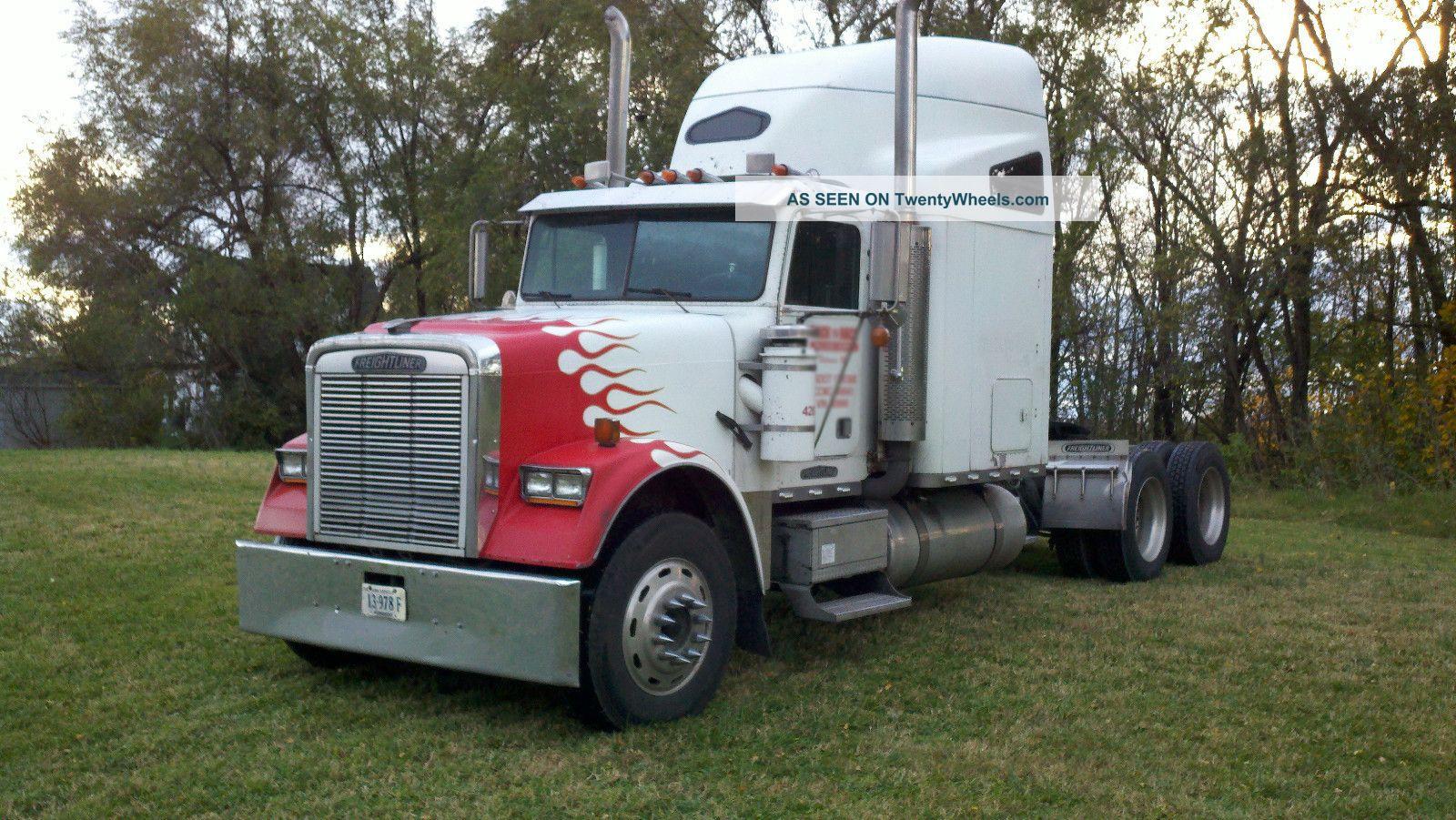 1993 Freightliner Classic Sleeper Semi Trucks photo