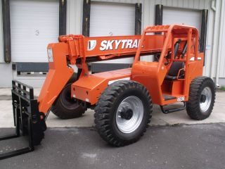 2005 Skytrak 6036 Telescopic Telehandler Forklift Lift 9000 Lb Capacity photo