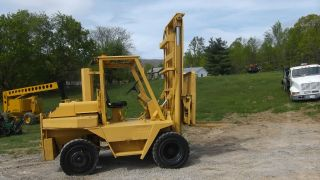 Wiggins W106y 10,  000 Lbs Rough Terrain Cummins Diesel Forklift Lift Truck photo