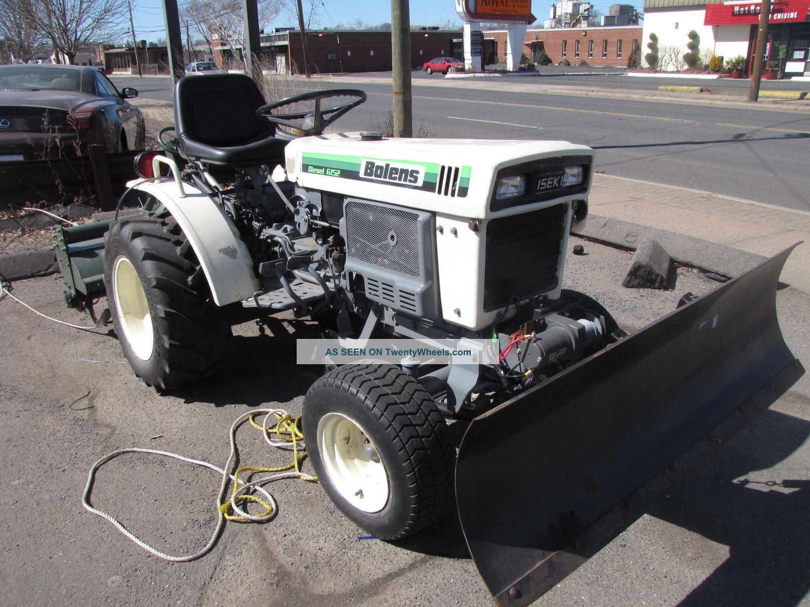 Iseki Tractor Tire Rims : Bolens iseki diesel tractor g yanmar tiller way plow