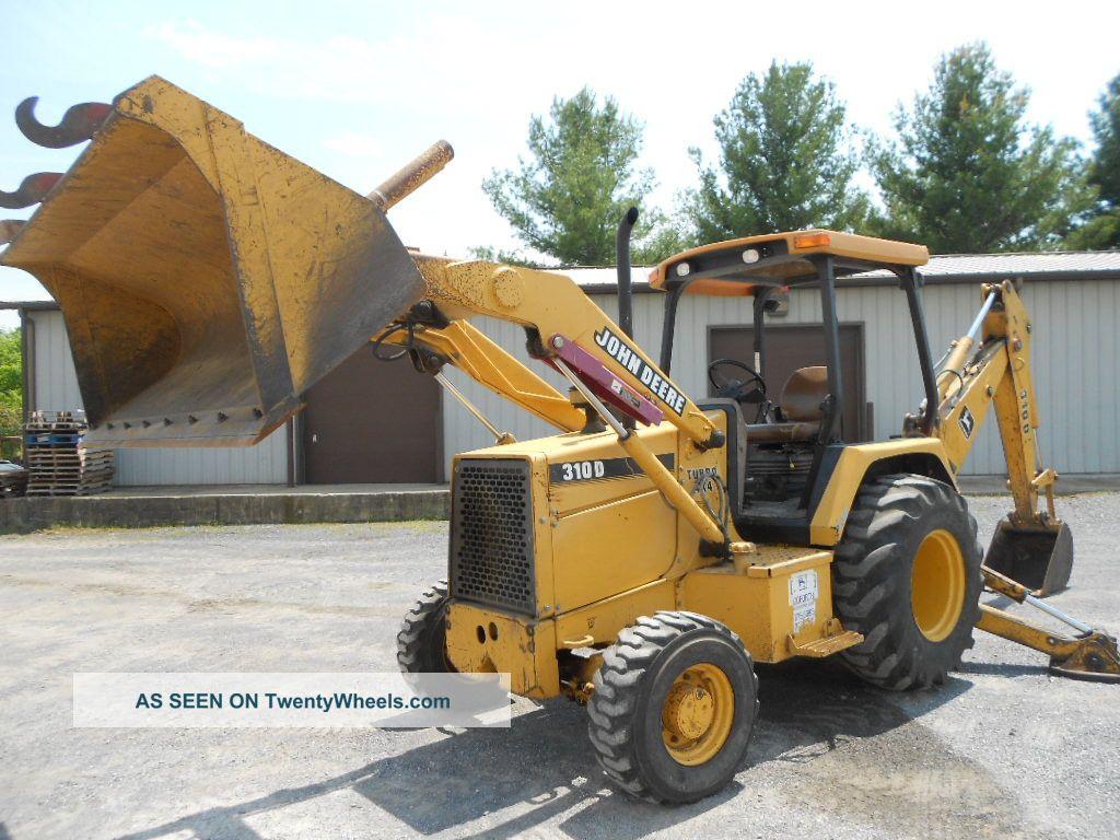 John Deere 310d Specifications : John deere d backhoe loader canopy standard hoe