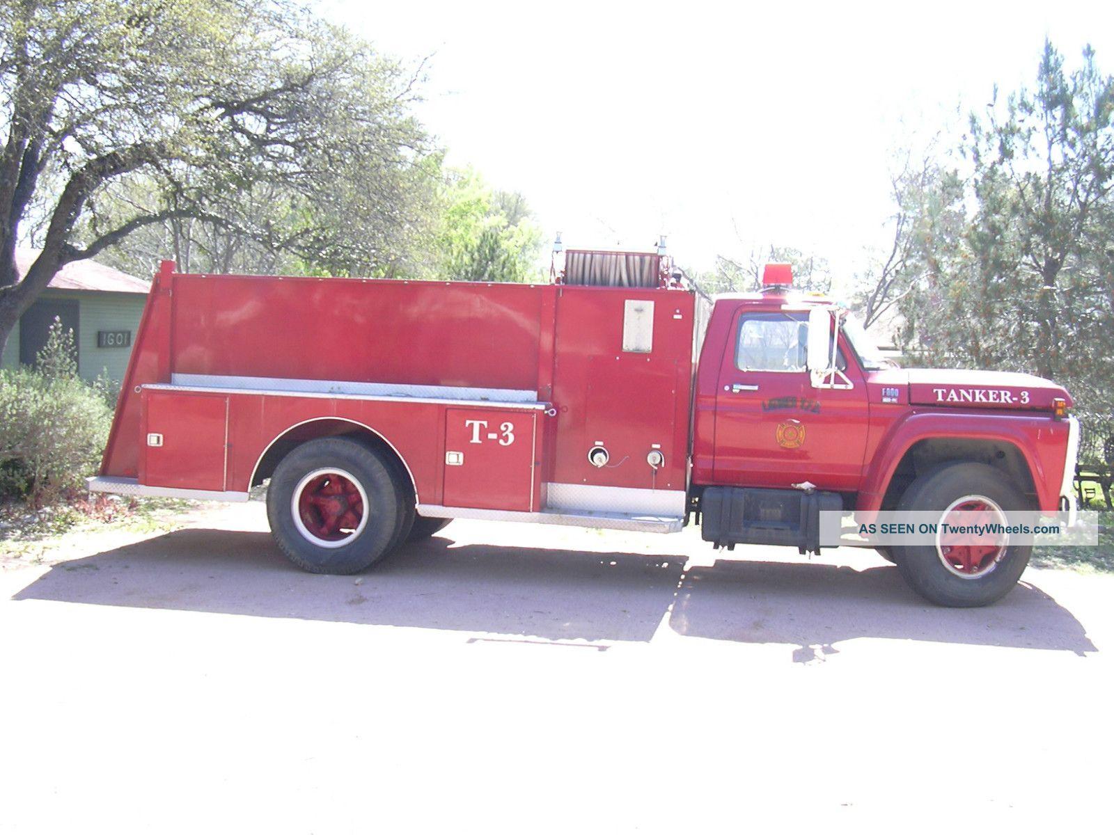 fire trucks ford