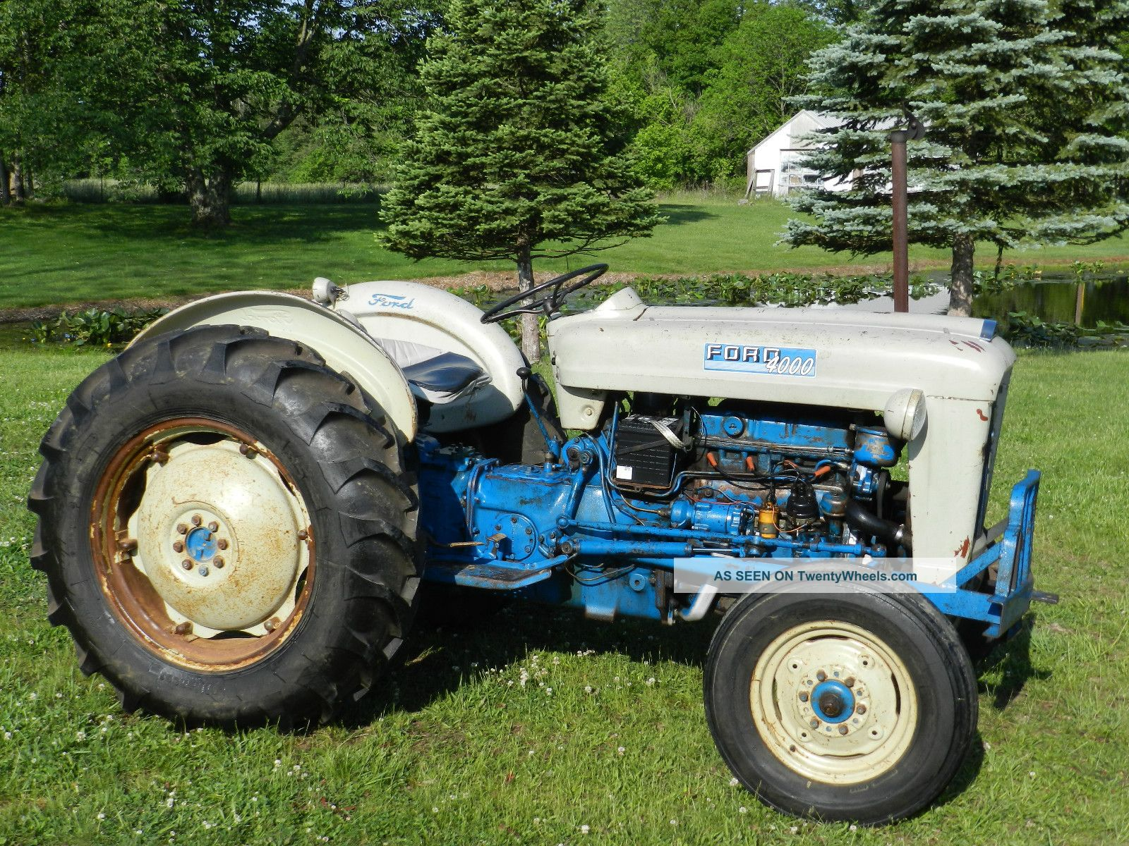 Ford 4000 Tractor Steering Wheel : Ford tractor wheels bing images