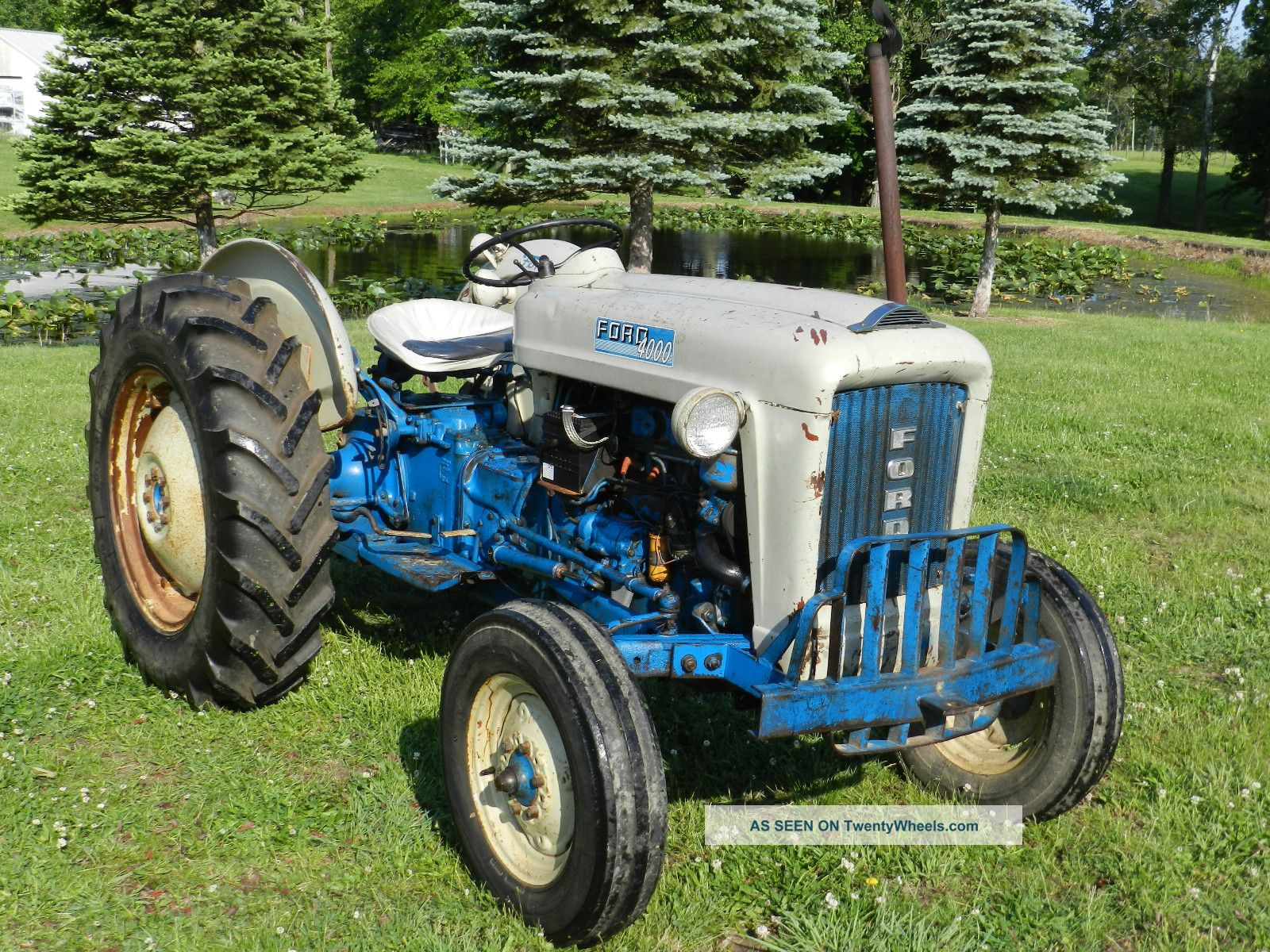 1963 Ford Tractor Model 2000 : Ford tractor power steering car interior design