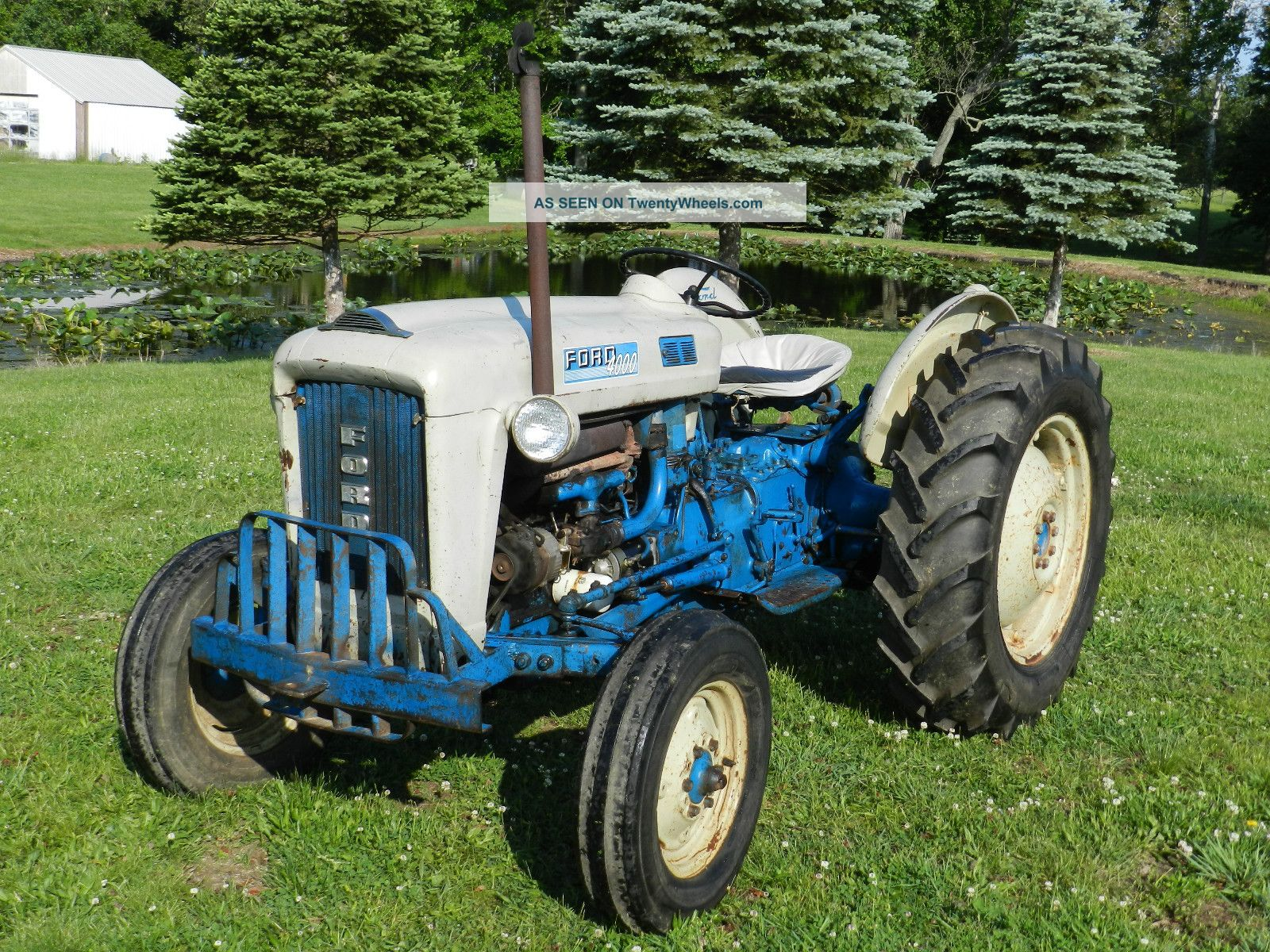 1963 Ford 4000 Tractor Data