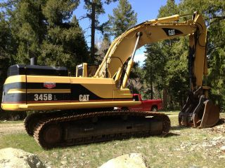 1998 Caterpillr 345bl Excavator W/thumb,  Hitachi,  Cat,  Link - Belt,  Deere photo