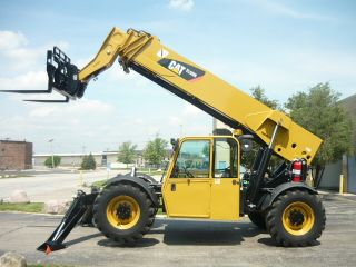 2008 Caterpillar Cat Tl1255 Reach Forklift Jlg Telehandler Full Cab Telescopic photo