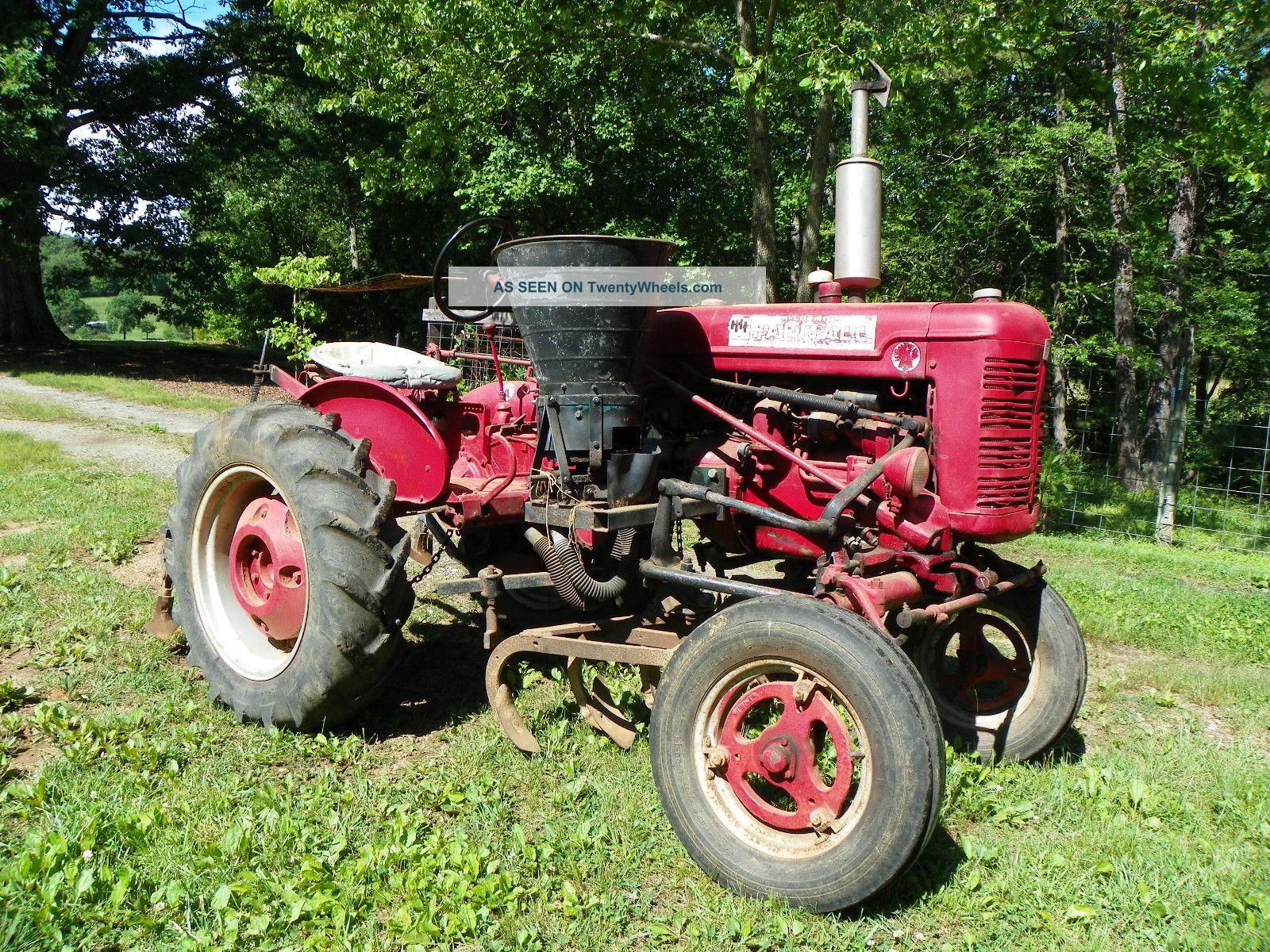 Antique International Harvester Semi Tractor : International harvester farmall tractor wd