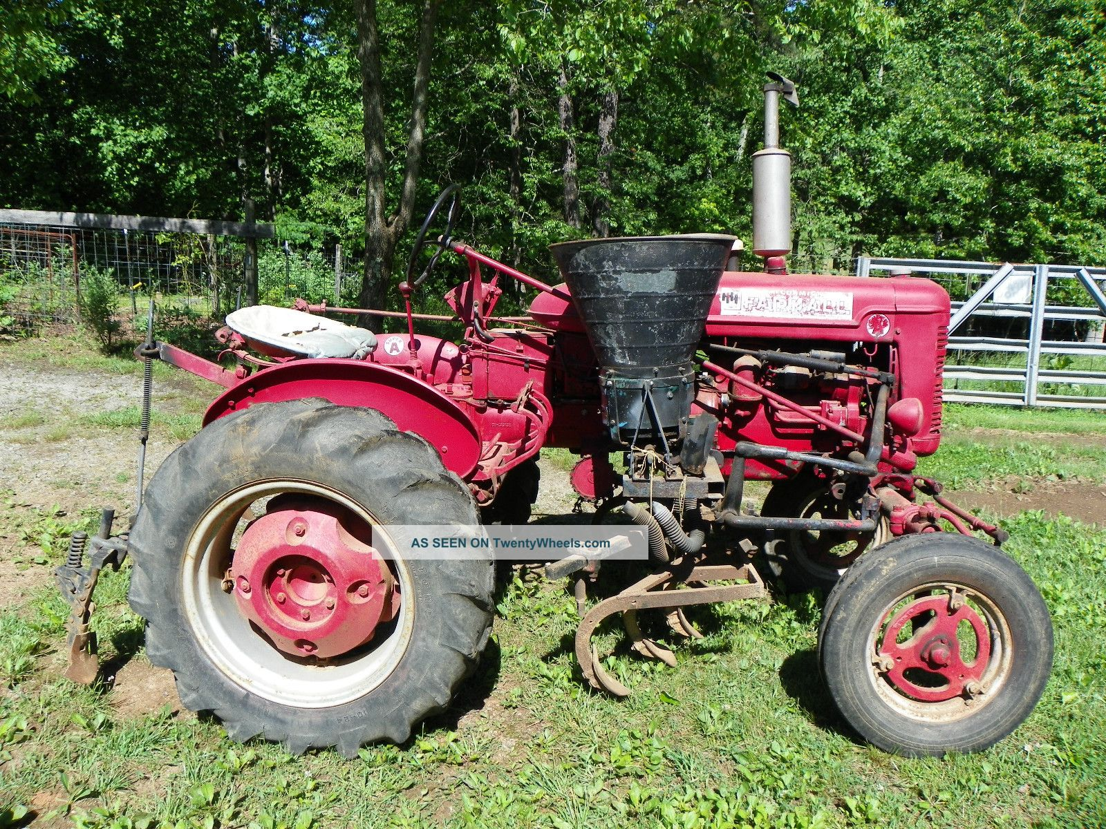 Accessories For Tractors : International harvester farmall tractor wd