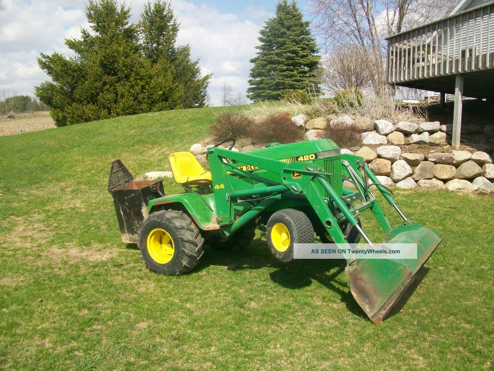 Garden Tractor Hydraulic Implement Lift : Garden tractor point hitch ftempo