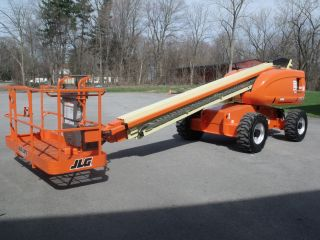 2004 Jlg 600s Aerial Manlift Boom Lift Man Boomlift W/foam Filled Tires Painted photo
