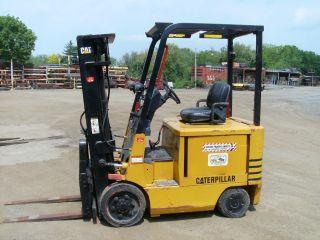 Electric Forklift,  Caterpillar,  2ec25 photo