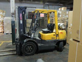 2001 Tcm Fc30n5 Forklift photo