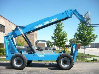 2006 Genie Gth1056 Telehandler Reach Forklift Telescopic Material Terex Th1056c photo