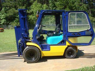 2002 Komatsu Fg25ht - 12 Dual Drive Pneumatic Tire Gasoline Forklift Truck photo