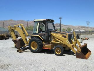 1994 Cat 416b Backhoe Tier 0 Serial X8zk00478 photo