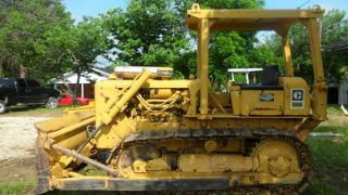 1974 Caterpillar D4d 90% Undercarriage By Breco,  Excellent Dozer. photo