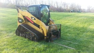 2008 Cat Caterpillar 287c Track Skid Steer Loader Cab,  Heat,  Air,  Diesel Tractor. photo