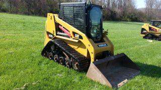 2008 Cat Caterpillar 247b2 Track Skid Steer Loader Cab,  Heat,  Air,  Diesel Tractor. photo