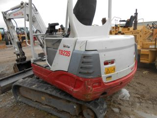 Takeuchi Tb235 2008 1850 Hrs In Pa Rental Return Very Good Runner photo