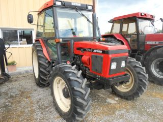 Zetor 7340 4x4 Cab Daul Remotes 1100 Hrs One Owner Tractor Off Of ...