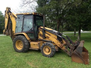 2001 Caterpillar 420d It Backhoe Loader photo