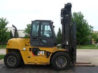 2008 Cat Caterpillar P26500 Forklift 26500lb Pneumatic Diesel Lift Truck photo