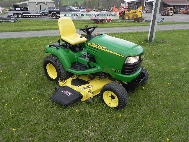 John Deere Lawn Tractor Equipment : John deere lawn and garden tractor mower