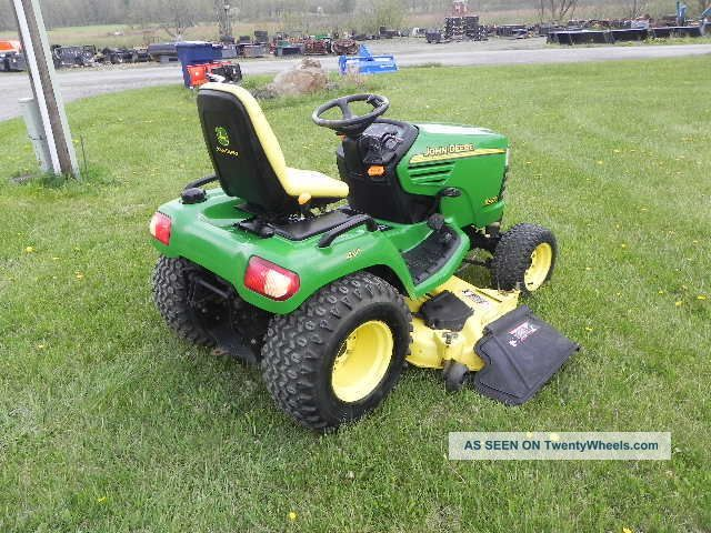 Garden Tractors on john deere 455 front end loader
