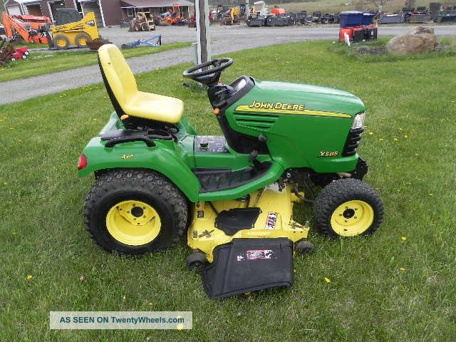 John Deere Garden Tractors 4x4 : John deere lawn and garden tractor mower