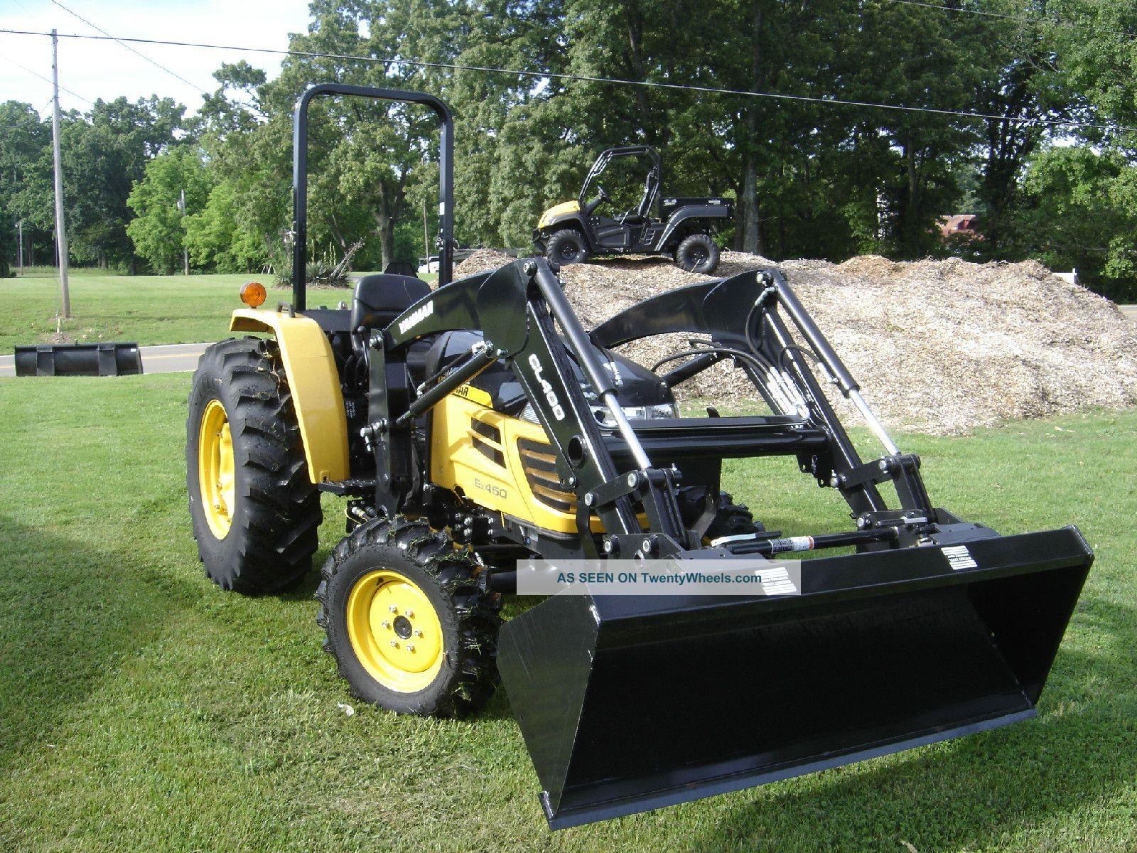 Cub Cadet Compact Tractors : Cub cadet yanmar ex compact utility tractor