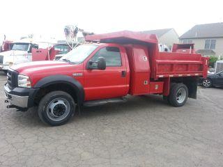 2006 Ford F550 Dump Truck photo