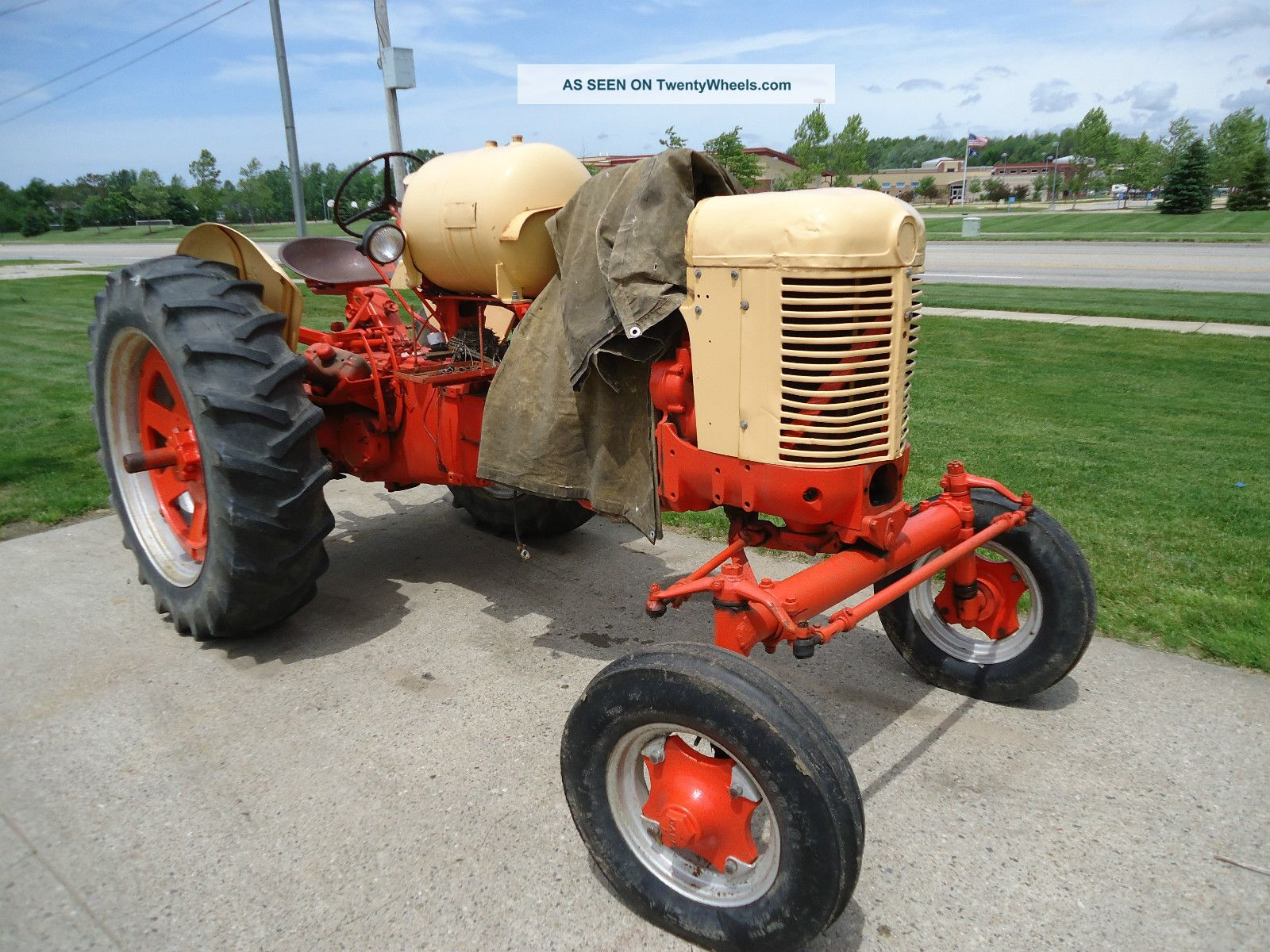 Case Gas Tractor : Case big lp gas tractor parts or repair