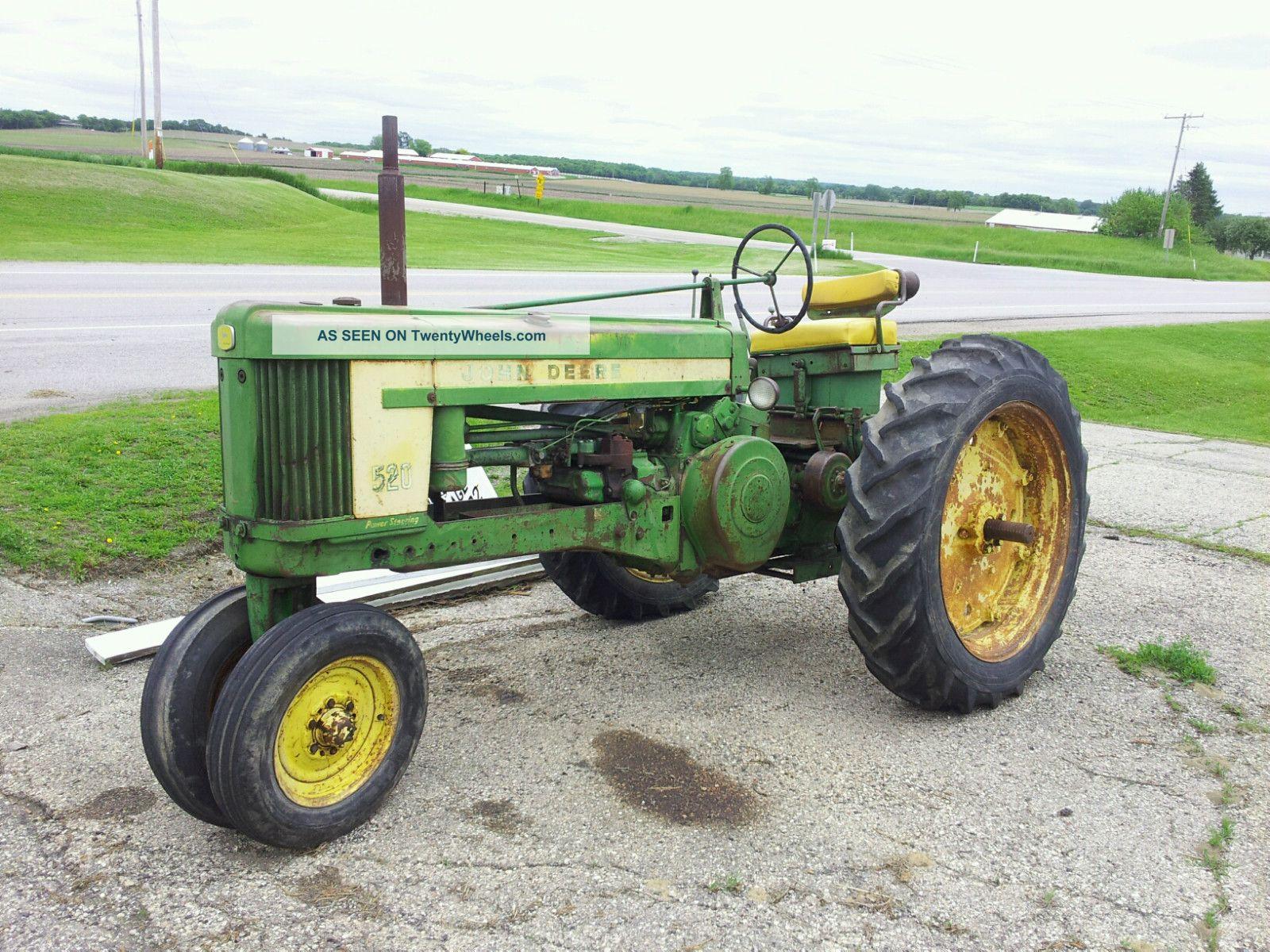 John Deere 520 Tractor Clutch : John deere straight tractor