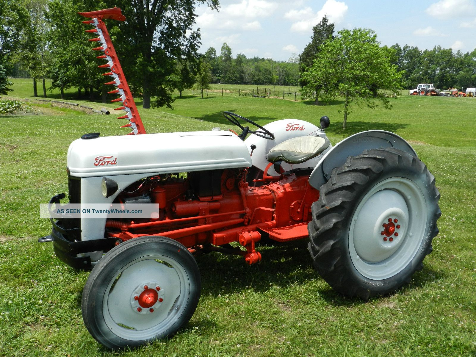 Ford Tractor Bars : Ford n tractor foot side sickle bar mower