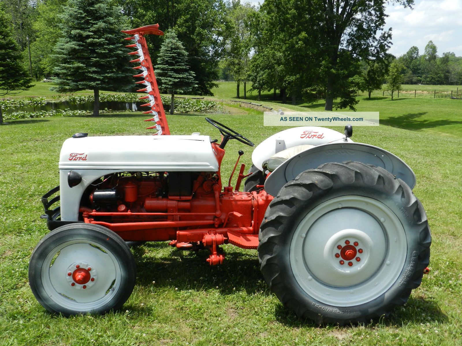 Ford Tractor Bars : Ford n sickle bar mower