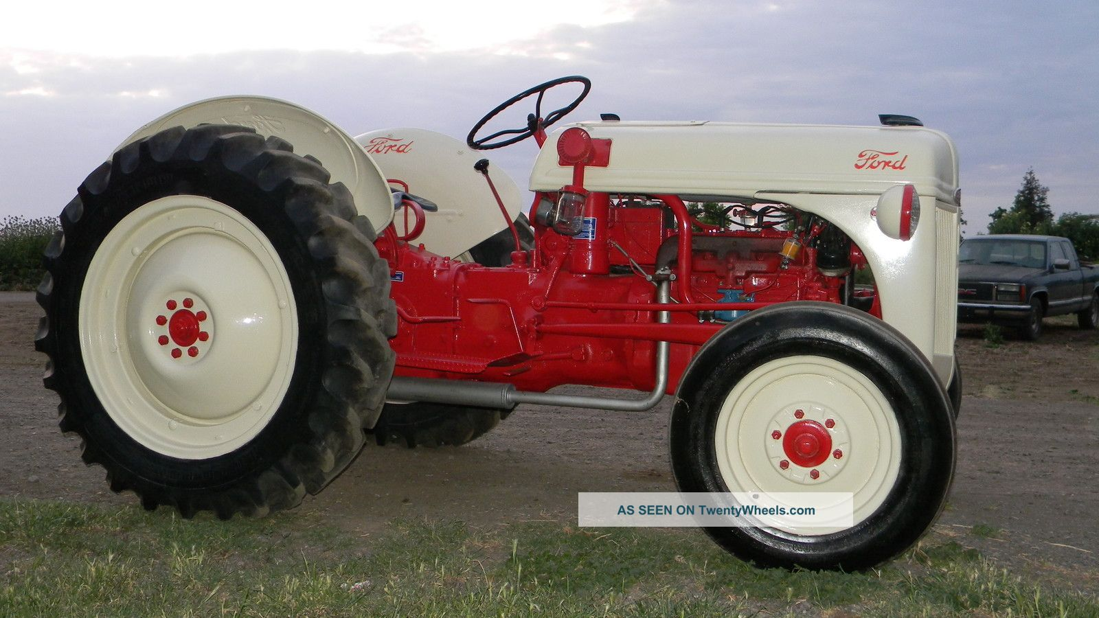 1950 Ford Tractor : S restored ford n tractor