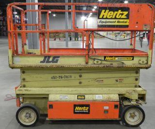 1997 Jlg 2646e Scissor Lift - 26 ' Platform Height - Extending Platform photo