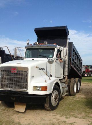 1996 Marmon 15 Yd Steel Dump Bed Air Ride W/a/c Dump Truck W/air Ride And Air Gate photo