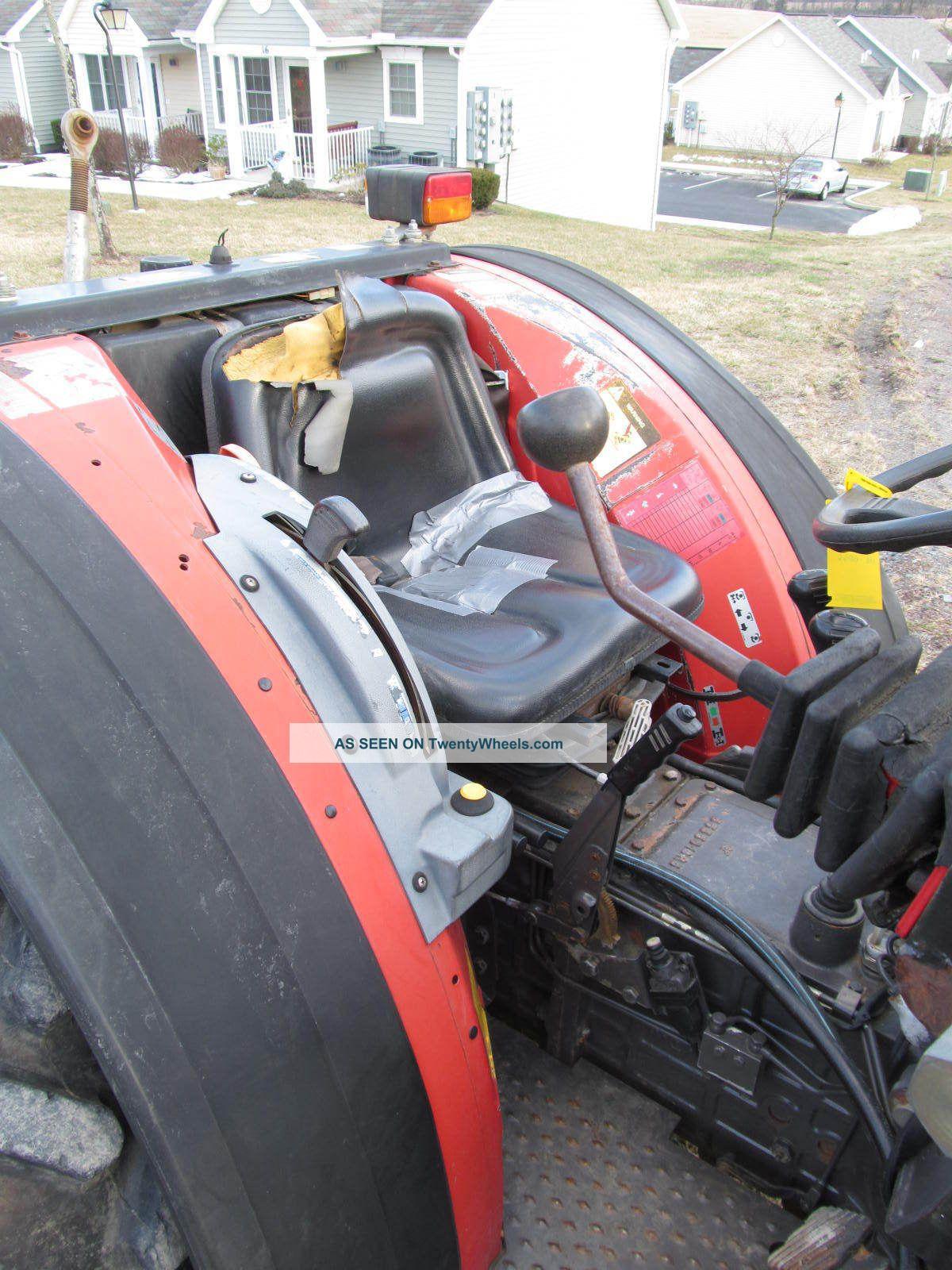 Mf Massey Ferguson 384 S Diesel 832 Loader 72hp 2wd Narrow Vineyard Tractor