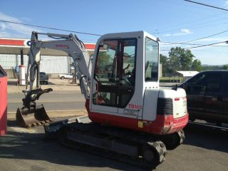 2006 Takeuchi Tb145 Mini Excavator photo