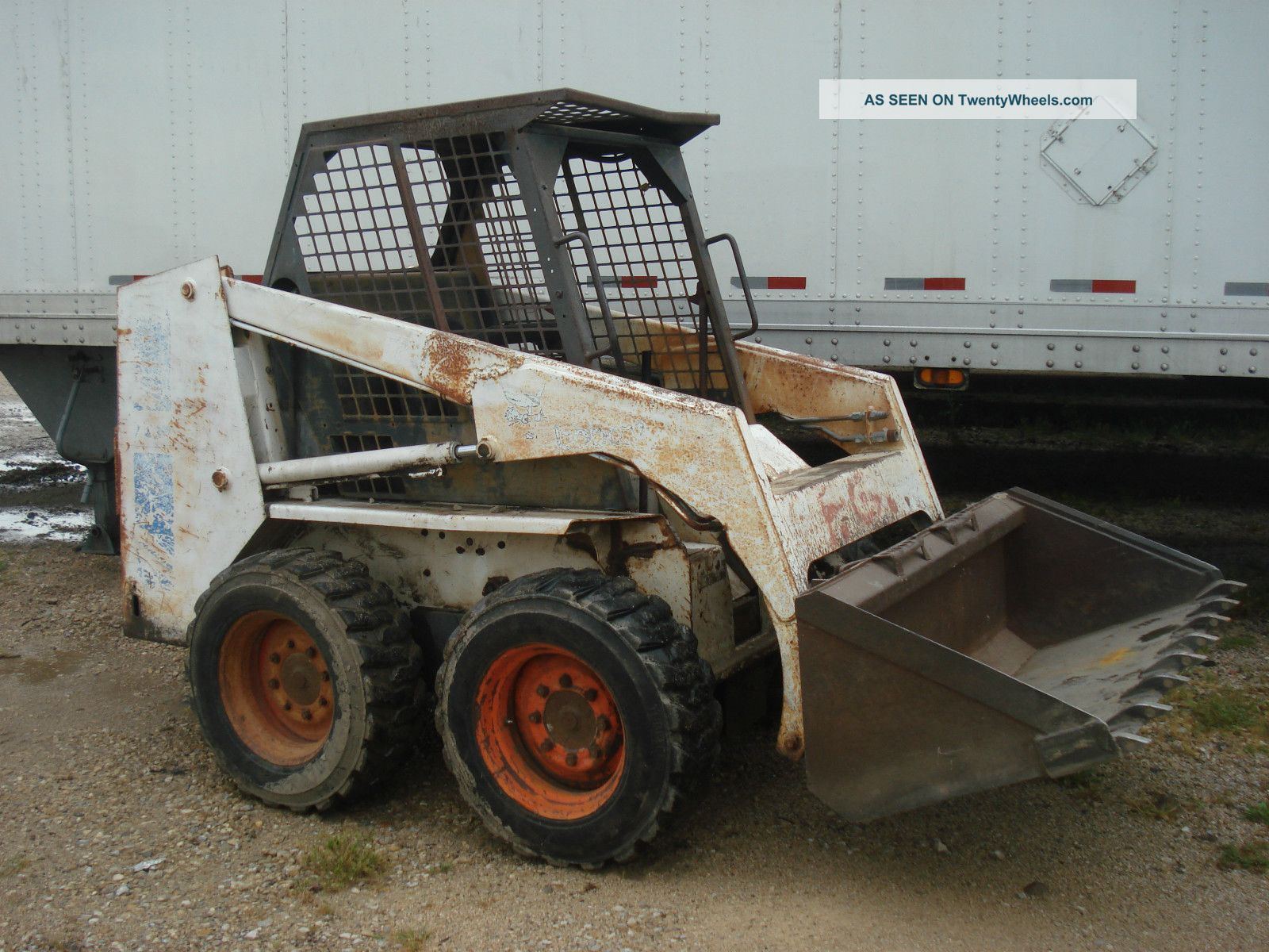 1993 Bobcat 743b Skidsteer Loader Skid Steer Loaders photo