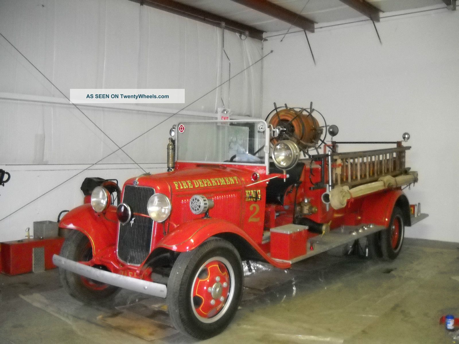 1934 Ford Firetruck Emergency & Fire Trucks photo